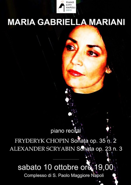 Locandina Mariani Piano City 2015