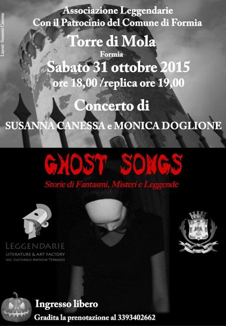 Manifesto Ghost Songs Formia