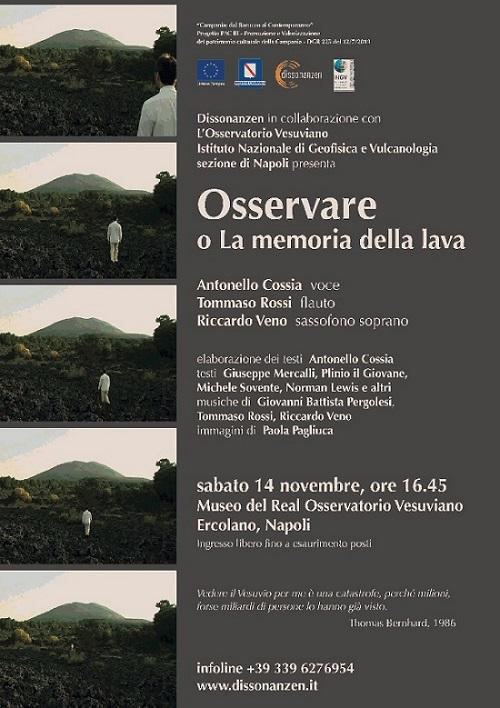 Dissonanzen all'Osservatorio Vesuviano