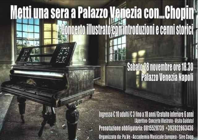 Locandina 28 novembre Chopin