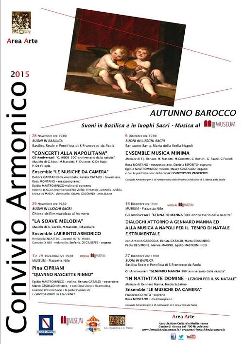Locandina Autunno Barocco Area Arte