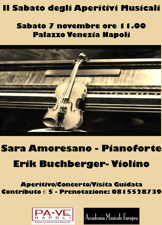 Locandina Palazzo Venezia 7 novembre