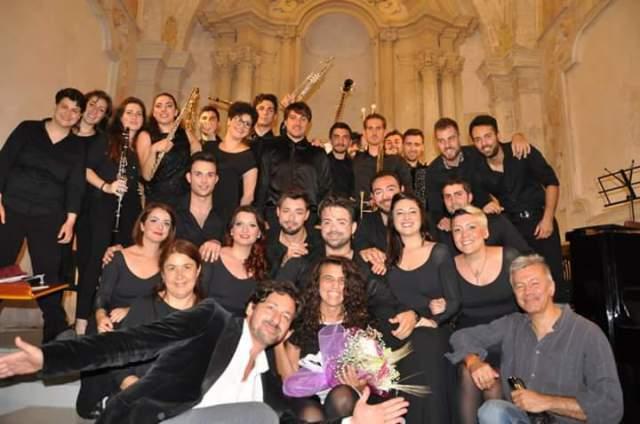 Conservatorio di Salerno - Finale dell'opera da tre soldi