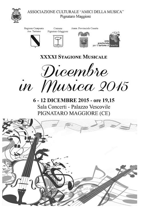 Locandina Dicembre in musica