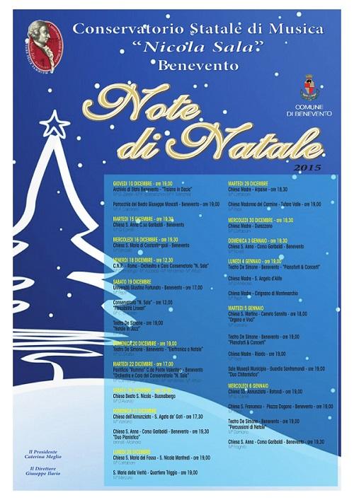 Manifesto Note di Natale II Edizione