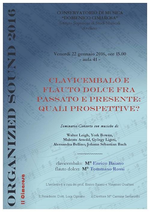 Locandina concerto duo Rossi-Baiano