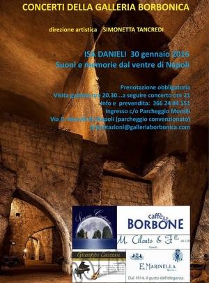 Manifesto Concerto Galleria Borbonica 1