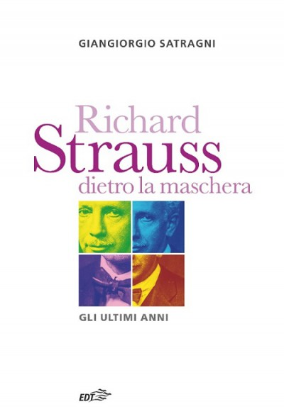 Copertina libro su Richartd Strauss