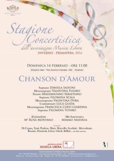 Locandina Musica Libera concerto 14 febbraio