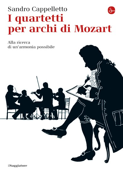 Copertina i Quartetti per archi di Mozart