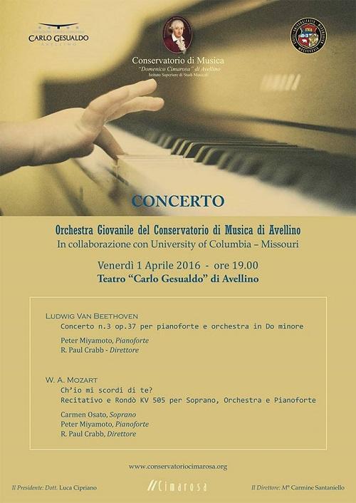 locandina concerto avellino 1 aprile