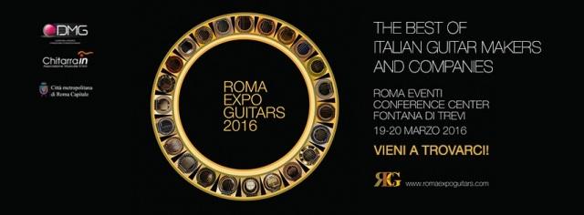 Locandina Expo Guitars 2016
