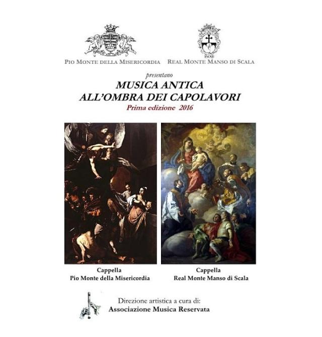 Locandina Musica Antica all'ombra dei capolavori