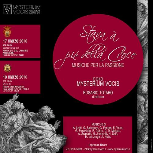 Locandina Mysterium vocis 17-19 marzo