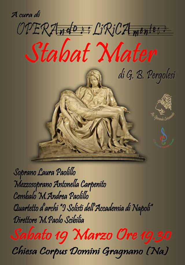 Locandina Stabat Mater Gragnano