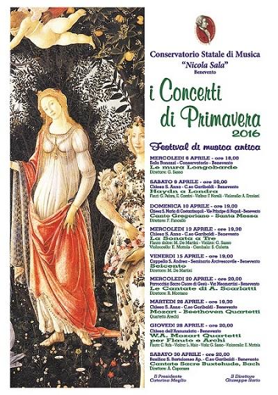 Concerti di Primavera - Benevento