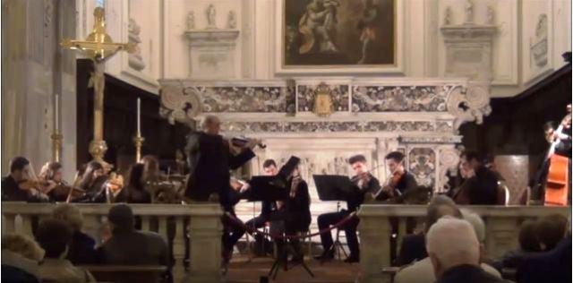 Concerto archi Orchestra Giovanile Napolinova