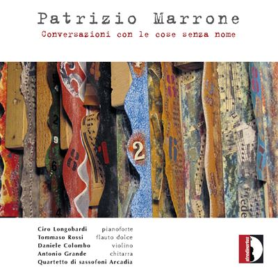 Copertina cd Patrizio Marrone