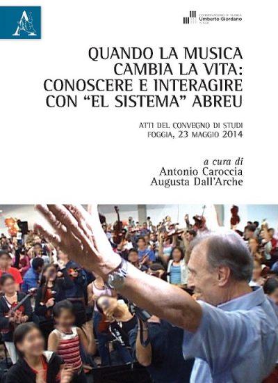 Copertina libro EL SISTEMA Abreu