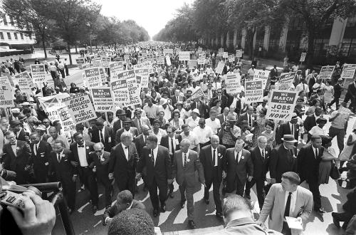 US civil rights leader Martin Luther King,Jr. (3rd