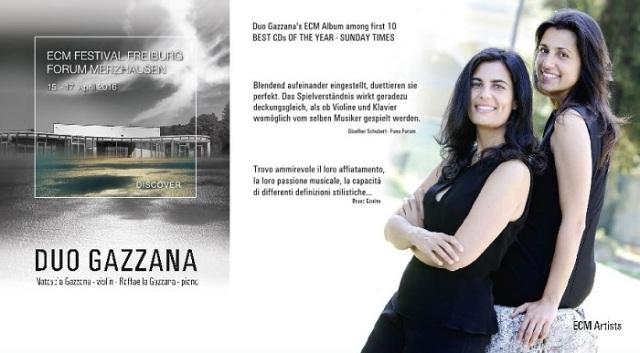 Locandina Duo Gazzana
