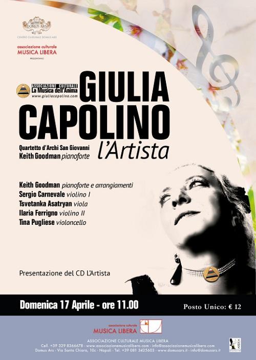 Locandina Giulia Capolino