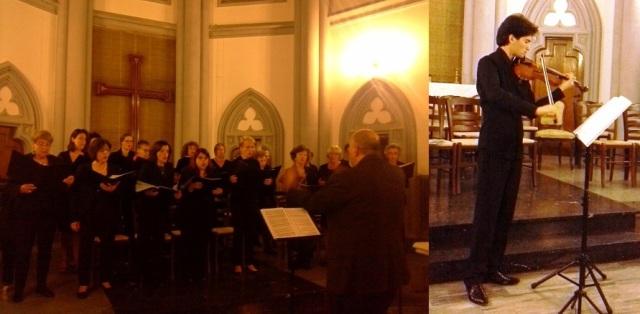 Coro Femminile Luterano diretto da Carlo Forni e Christian Sebastianutto (Foto Max Cerrito)