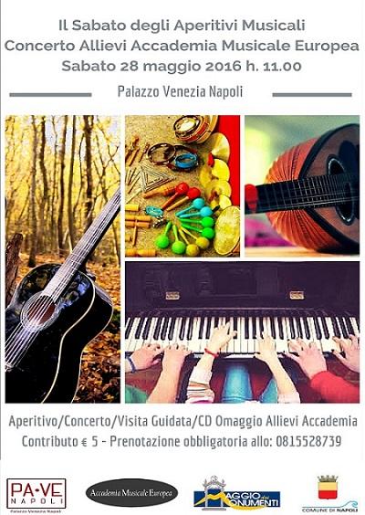 Locandina concerto 28 Maggio Allievi Accademia