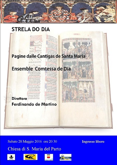 Locandina Concerto Cantigas
