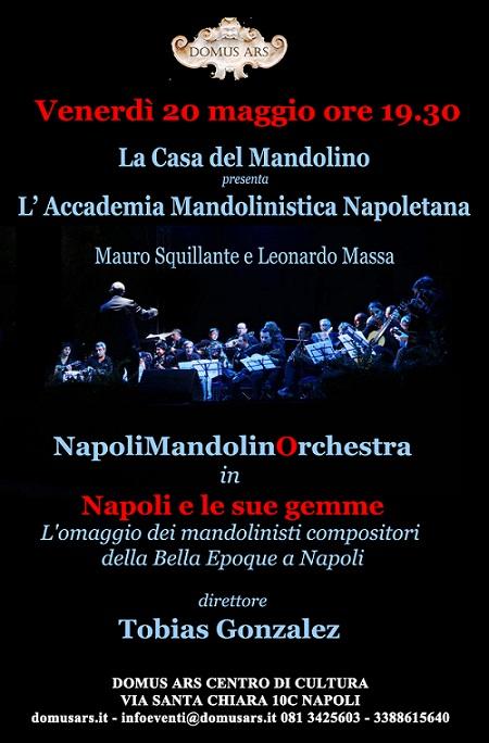 Locandina concerto Domus Ars NapoliMandolinOrchestra