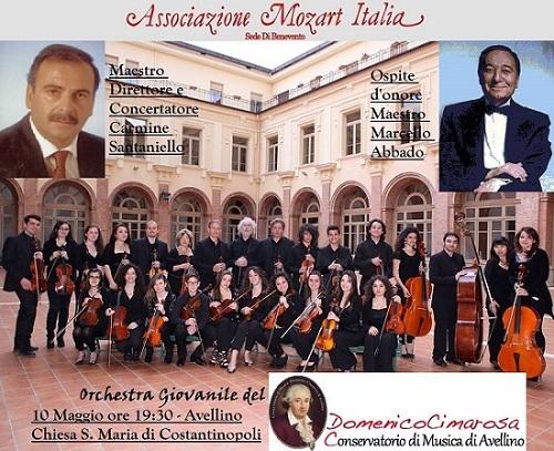Locandina Concerto per Marcello Abbado