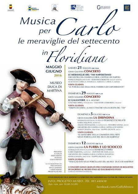 Locandina Musica per Carlo