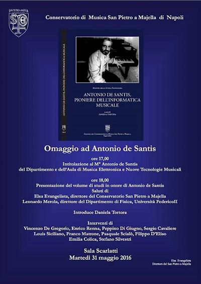 Locandina omaggio a de Santis