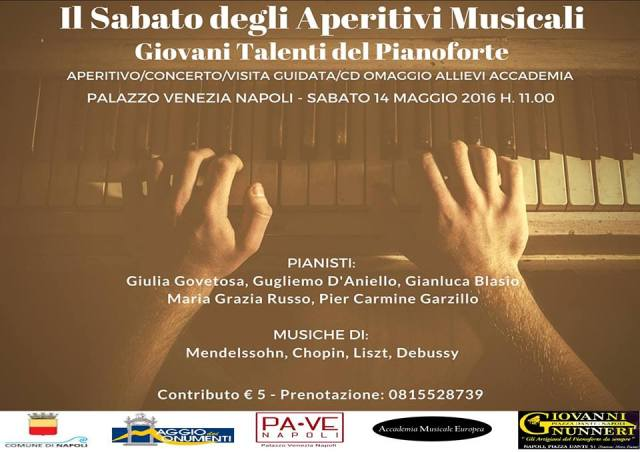Locandina Palazzo Venezia 14 maggio