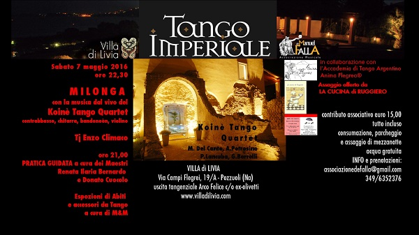 Locandina Tango Imperiale 7 -5-2016