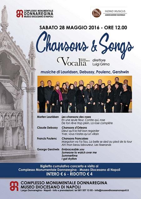 Locandina Vocalia Museo Diocesano 28 maggio