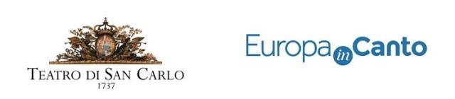 Logo San Carlo + Logo Europa InCanto