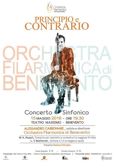 Manifesto concerto Carbonare Benevento
