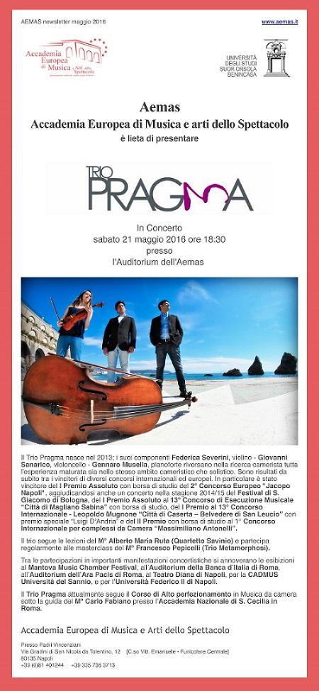 Manifesto Trio Pragma