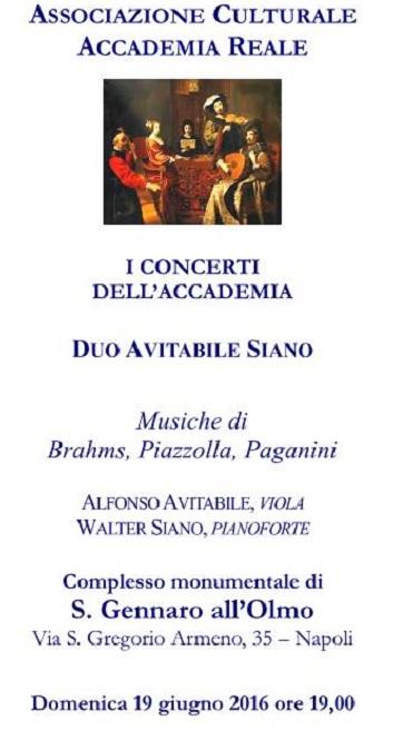 I Concerti dell' Accademia 19 giugno