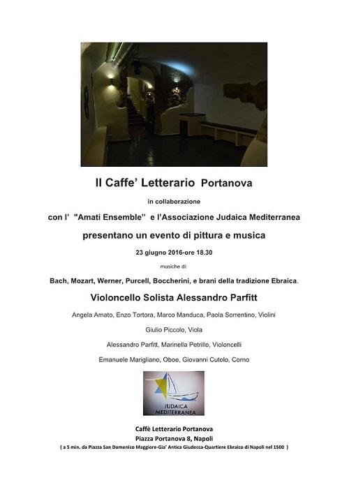 Locandina Concerto Ensemble Amati