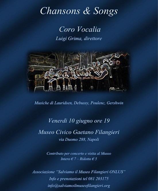 Locandina concerto Vocalia