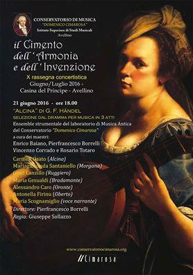 Locandina Festa della Musica Conservatorio Avellino