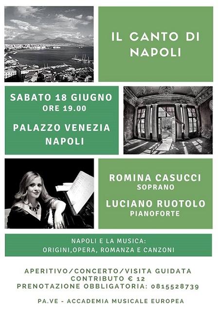 Locandina Il Canto di Napoli
