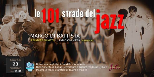 Locandina Le 101 strade del jazz