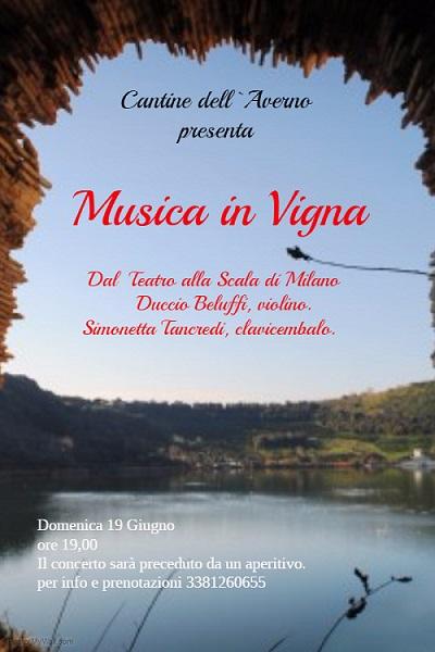 Locandina Musica in Vigna giugno