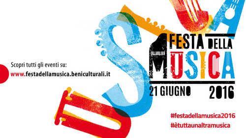 Logo Festa della Musica 2016