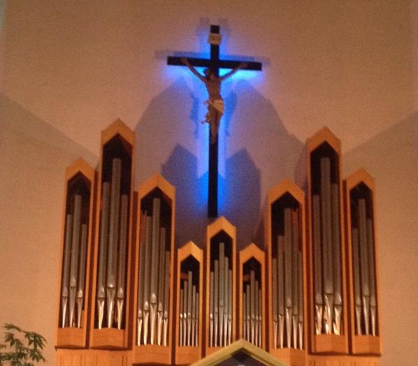 Organo Mascioni della chiesa di S. Maria della Rotonda