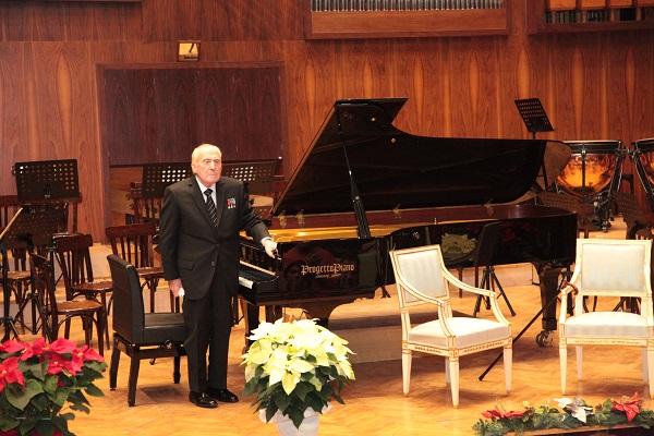 Ciccolini al Conservatorio di Napoli