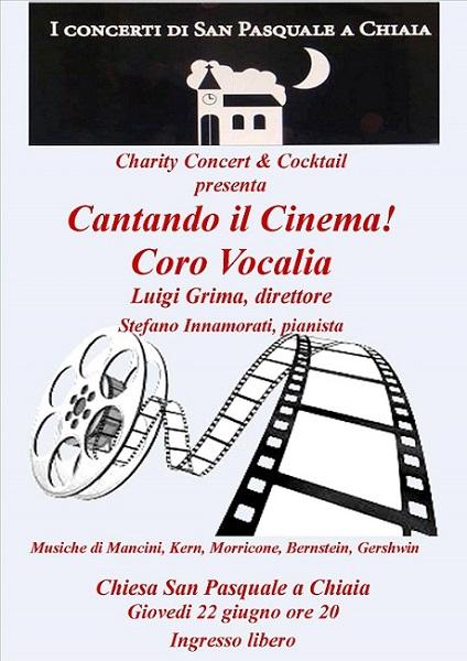 Gioved 22 giugno il coro vocalia diretto da luigi grima for Il film della cabina 2017